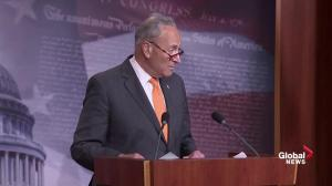 Chuck Schumer calls on Republicans to take action against Trump