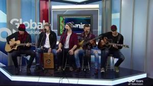 Hunter Brothers perform 'Joy to the World'