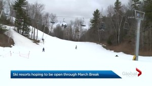 Durham ski hills receive stark reminder that spring is on the horizon