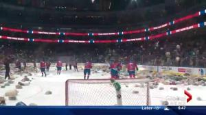 Santas Anonymous teddy bear toss update & delivery weekend info
