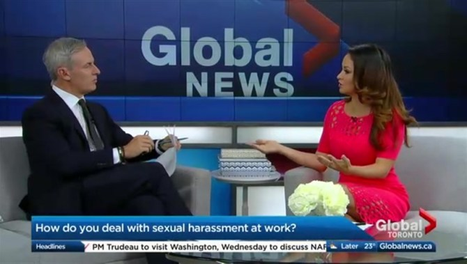 dealing with the global problem of sexual harassment Whilst some schools are alive to the problem  in most workplaces there is an official process in place for dealing with complaints of sexual harassment  global.