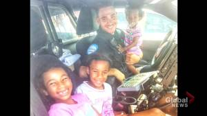 South-shore family wants to publicly thank Montreal police officer