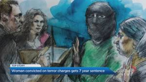 Woman guilty of terror charges in Canadian Tire attack sentenced to 7 years in prison