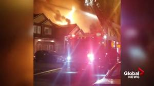 Surrey families displaced by overnight fire