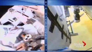 NASA conducts second spacewalk to repair the iconic Canadarm