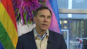 Morneau announces federal government investment of $450K to protect LGBTQ Canadians