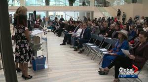 Edmontonians mark International Women's Day