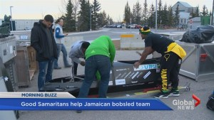 Calgary helps out Jamaican bobsled team
