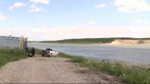 RCMP divers search Manitoba river in hunt for teen fugitives