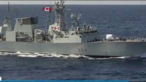 Chinese fighter jets buzz Canadian warship in East China Sea