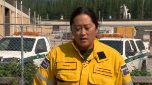 Parks Canada and Sunshine Village staff assess fire danger