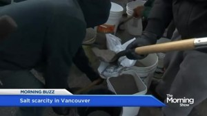 Scramble for salt in Vancouver