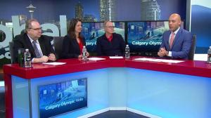 Global News panel discusses what Calgary Olympic bid plebiscite vote will mean