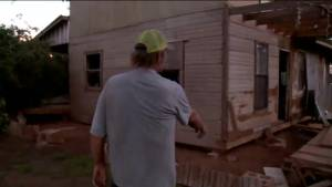Oklahoma man lucky to be alive after deadly tornadoes spare home