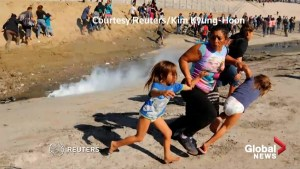 Tear-gassed mother recounts U.S. border chaos