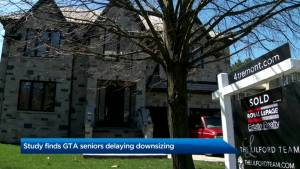 Study finds GTA seniors delaying downsizing
