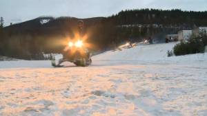 Snowmobile course reopened a day after McBride avalanche