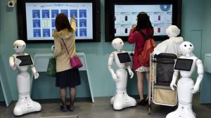 Japanese cellphone store staffed only by robots opens in Tokyo