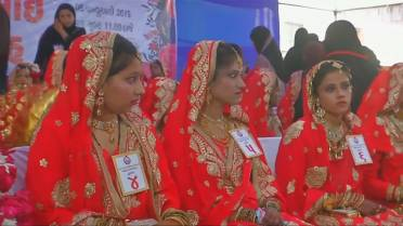 Mass wedding for orphan girls held in India - National