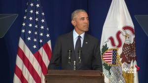 Obama says politics of fear and division has 'infected both parties'
