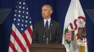 Obama: When there's a vacuum in our Democracy, other voices fill the void