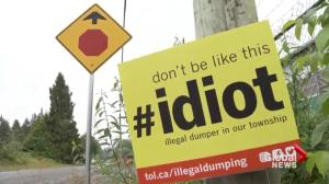 Township of Langley takes on illegal dumping with new campaign