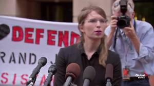 Chelsea Manning says Grand Jury subpoena part of a 'bananas case' (01:18)
