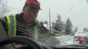 ICBC adding up the damage caused by ice bombs