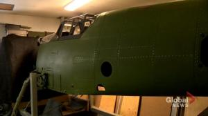 Saskatoon man restoring vintage German fighter plane