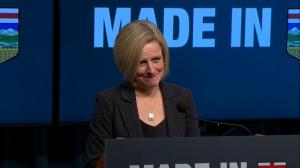 Notley explains why they are using large amount of Made in Alberta funds for single project