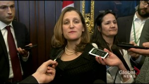 'Immediate and pressing' refugee crisis in Venezuela: Freeland