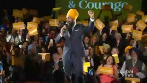 Jagmeet Singh runs for leader of NDP