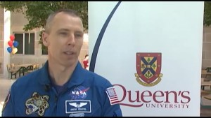 Queen's Connection to Space Station Mission