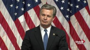 Wray says 'culture of leaking' to be stopped with new media policy