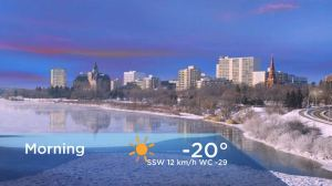 Saskatoon weather outlook: arctic air surges in to end the week