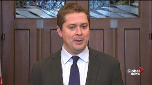 Andrew Scheer won't take Justin Trudeau 'at his word' on SNC-Lavalin