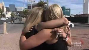 Three Las Vegas shooting survivors reunite one year later