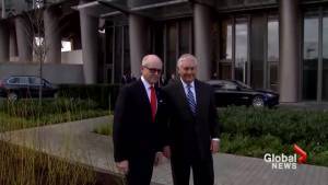 Tillerson tours new London embassy derided by Trump