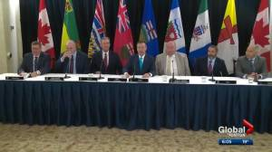 Kenney and Horgan grab spotlight at western premiers' meeting