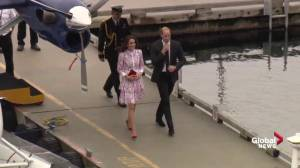 Hundreds gather as Prince William and Kate arrive in Vancouver