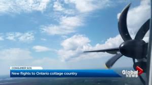 Porter starts flights between Toronto and Muskoka