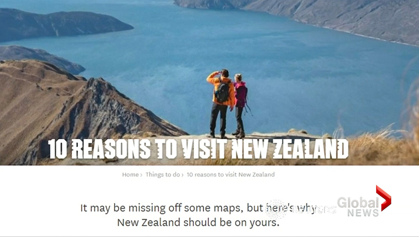 New Zealand launches campaign to #getnzonthemap