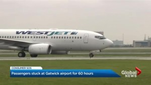 WestJet passengers wait 60 hours for flight