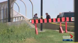 Body found on north Edmonton overpass