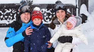 New photos released of Royal Family's ski strip