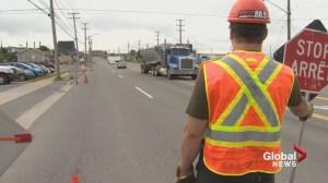 Saint John asks motorists to 'slow down' around construction sites