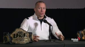 Georges St-Pierre : I'm very lucky to have been born in Canada