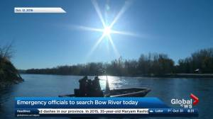 Emergency crews search Bow River for bodies