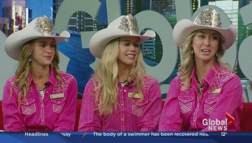 2017 Calgary Stampede Queen And Princesses Crowned Watch