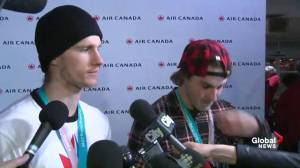 Max Parrot talks about his Olympic experience